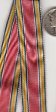 12+ inchesOriginal WWII Victory MINIATURE Medal RIBBON US Army Navy Marine Corps