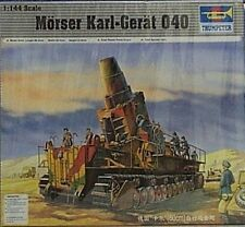 Trumpeter 1/144 Morser Karl Gerat 040 German Gun Mortar New 101