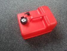 New 11.3L Plastic Fuel Tank with Gauge Petrol Outboard Motor Boat Engine