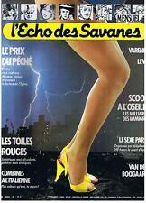 L'ECHO DES SAVANES NOUVELLE SERIE N° 22 1984 TRES BON ETAT