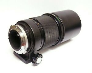 OLYMPUS ZUIKO 300mm F4.5 PRIME TELEPHOTO LENS.