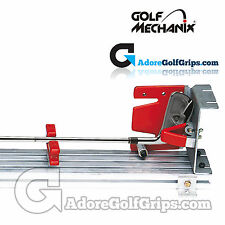 Golf Mechanix - Auto Aligning Re-Gripping Jig - Aids Correct Grip Alignment