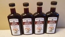 4  JR Watkins Double Strength Baking Vanilla 11 oz with Pure Vanilla Extract
