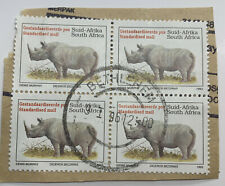 1993 South Africa Stamps Block with Bethlehem SON cancel