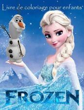 Frozen Livre de Coloriage Pour Enfants : Cet Belle A4 60 Page Livre de...