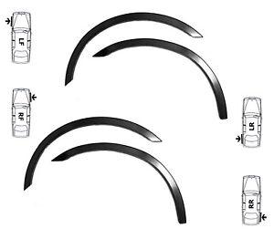 KIA SEDONA wheel arch trims 4 pcs Matt Black wing quater styling easy fit '01-05
