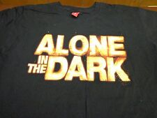 ALONE IN THE DARK T SHIRT SIZE MENS LARGE  ATARI VIDEO GAMES  Y8