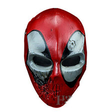 Batman Red Hood Mask Resin Deadpool Movie Halloween Costume Cosplay Props Masks