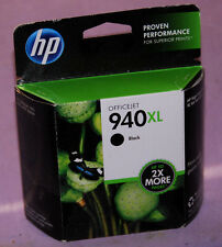 Genuine HP 940 XL Black Ink Cartridge C4906AN - New Sealed