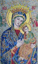 Mosaic Mural - Portrait Of Virgin Mary