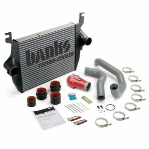 Banks Power Techni-Cooler Intercooler System; Fits 03-04 Ford 6.0L, F250/F350...