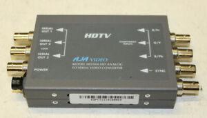 AJA video HD10A HD Analog to HD-SDI Serial Video Converter  No power supply
