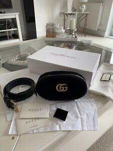 Gucci Marmont Velvet Belt Bag Bumbag Size 85