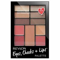 REVLON EYES, CHEEKS + LIPS PALETTE FULL FACE PALETTE 100 ROMANTIC NUDES