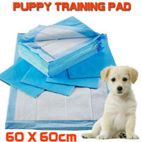 50pcs Puppy Pet Dog Indoor Cat Toilet Training Pads Absorbent 60x60cm