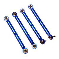 Traxxas Slash 4X4 1:16 Alloy Front/Rear Adj Toe Link, Blue by Atomik - TRX 7038