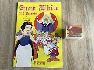 VINTAGE SNOW WHITE ALBUM COMPLETE WITH ALL STICKERS Not Inserted By PANINI 1980