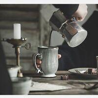 Retro Ceramic Milk Coffee Mug Household Breakfast French Mugs Nordic Drinkware