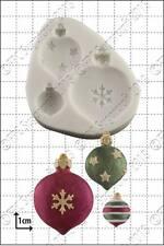 Silicona Molde Navidad Adornos | uso alimentario FPC Sugarcraft Envío Reino Unido!