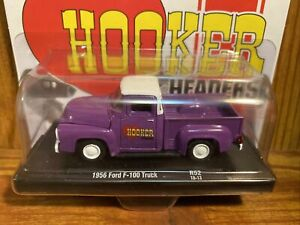 M2 Drivers Chase 1956 Ford F-100 Truck Hooker Headers