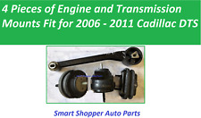 4 PCS Fit for 2006 2007 2008  - 2011 Cadillac DTS Engine and Transmission Mount