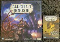 Eldritch Horror - Base Game w Organizer + Forsaken Lore Expansion FFG Boardgame