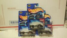 HOT WHEELS 2004 FIRST EDITIONS HARDNOZE BATMOBILE LOT OF 3 ERRORS READ