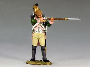 """King & Country """"Age of Napoleon"""" NA178 16th Dragoon standing firing"""