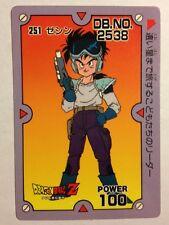 Dragon Ball Z PP Card 251