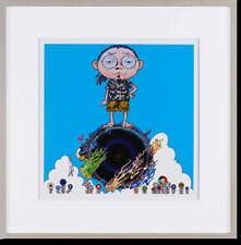 Takashi Murakami, Standing on a Bridge Linking Space & Time, 2014