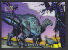 Upper Deck 2015 - Dinosaurs - 3-D Lenticular # 12 Iguanodon