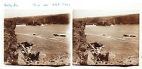 Belle-île-en-mer Morbihan Bretagna B12 Foto Placca Da Lente Stereo 6x13 CM