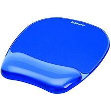 Fellowes 911410 Mouse Pad con Poggiapolsi Crystal Gel, 23.5x23x1.5 cm, (o0k)