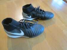 Nike Chicos magistax Onda DF TF Fútbol Botas Turf II astro grasstrainer Talla 4