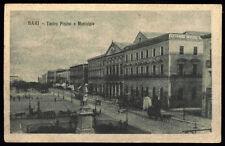 cartolina BARI teatro piccini e municipio
