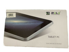 IRULU X9 White/Black Google Android tablet New With Box And Accessories