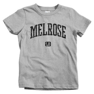 Melrose Los Angeles Kids T-shirt - Baby Toddler Youth Tee - Gift Avenue Place LA