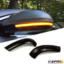 Fits EOS Jetta Passat B5 Smoked Side Mirror Sequential Euro Turn Signal Light