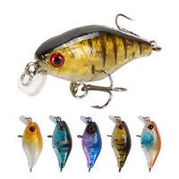 duro Duro Bass Cebos de gancho Minnow pesca con señuelos Crankbaits 45mm 4.4g