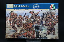 XU161 ITALERI 1/72 figurine 6056 British Infantry WWII Infanterie Anglaise