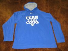 Under Armour, men's size Xl, blue graphic hoodie