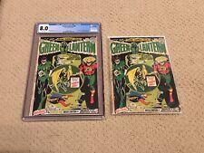 Green Lantern 88 CGC 8.0 White Pages (Classic SA & GA Green Lantern Cover)+extra