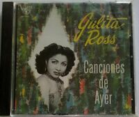 Julita Ross Canciones de Ayer Danzas Boleros DISCO HIT DHCD 1119 Sealed CD #103