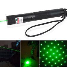 Green Laser Pointer Pen Adjustable Focus 532nm Lazer Beam