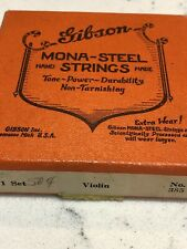 Gibson Mona Steel Strings Box Violin Vintage A D & G only