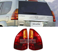 Yellow Style Bulb Tail Light Rear Lamp LH+RH Assembly for LEXUS 2003-2012 GX470