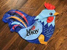 La Choy Chinese Meal Inflatable  Mail Away Rooster Promo Store RARE 2.5' Hanging