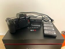Panasonic LUMIX S1R 47.3MP Mirrorless Camera - Black (Body Only)