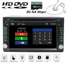 6.2 Inch HD 2Din Car GPS Navigation Stereo DVD Player Blueteeth Radio w/ 8G Maps