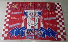 bandiera OLYMPIAKOS PIREO GRECIA calcio ultras flag drapeau Gate 7 Olympiakos